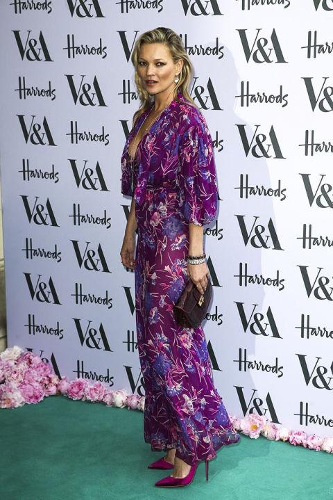 Кейт Мосс на вечеринке в 2016 году