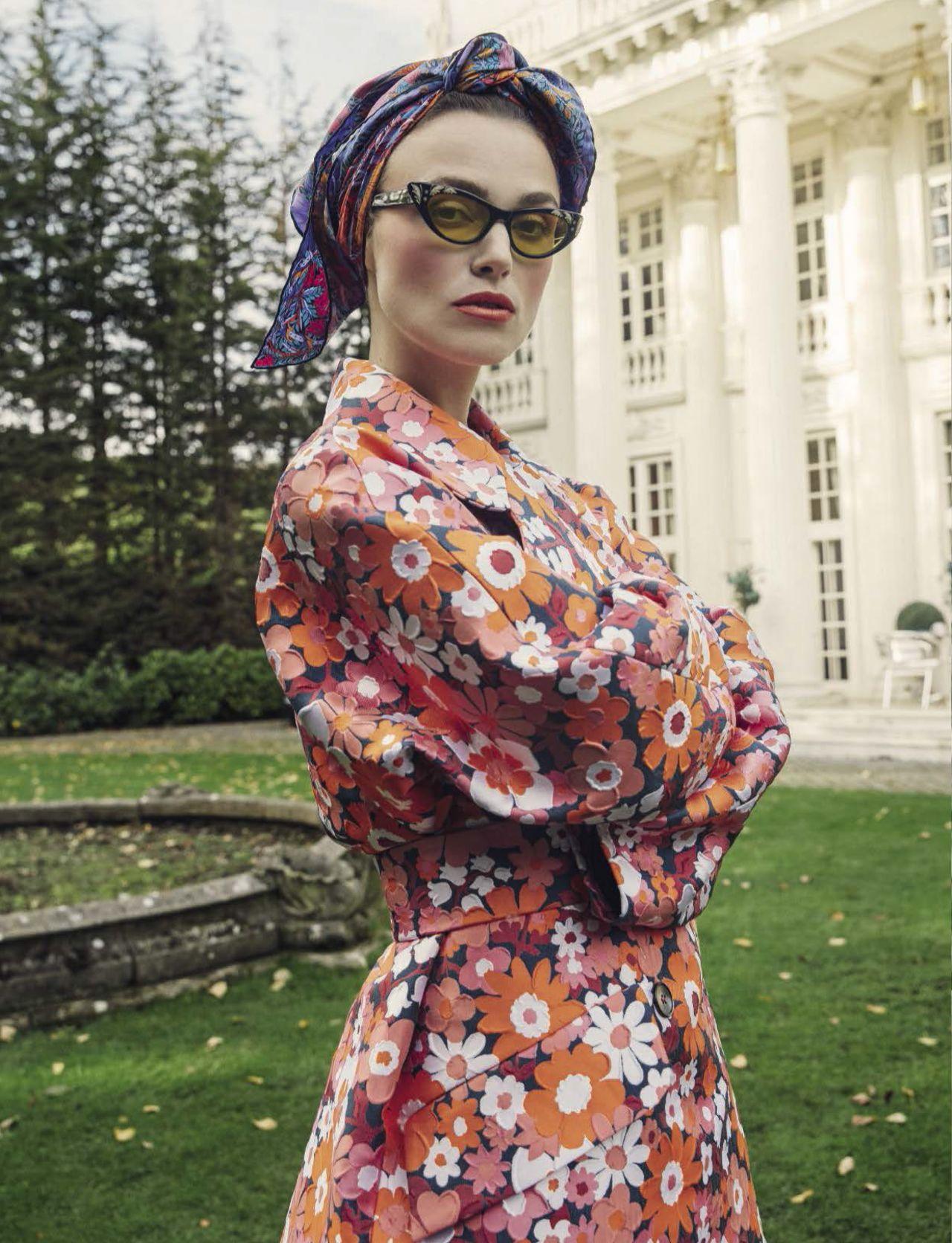 Кира Найтли 2017. Актриса на страницах журнала Vogue Italia