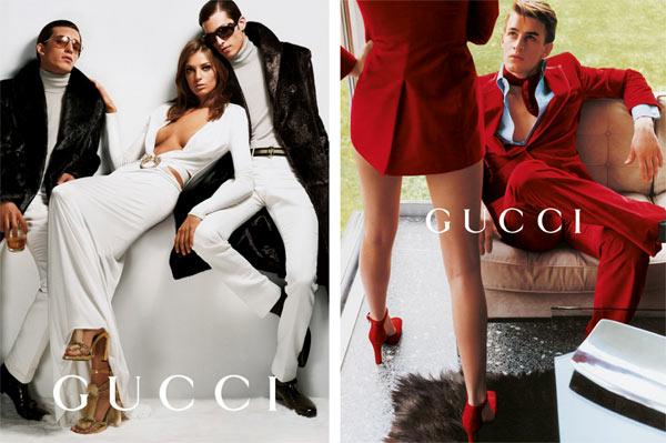Марио Тестино, кампания Gucci