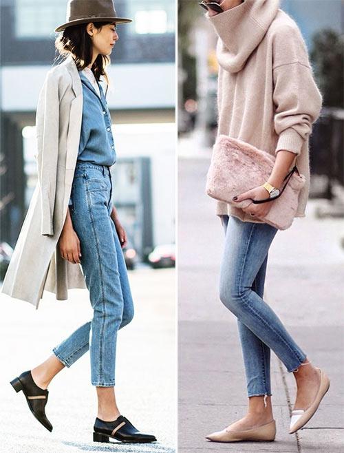 Модные джинсы для осени 2017