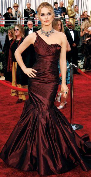 Кира Найтли на церемонии вручения Оскара