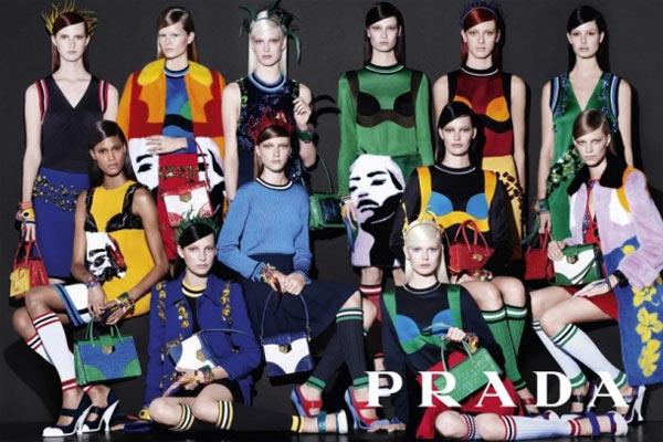 Кампания Prada by Стивен Мейзел