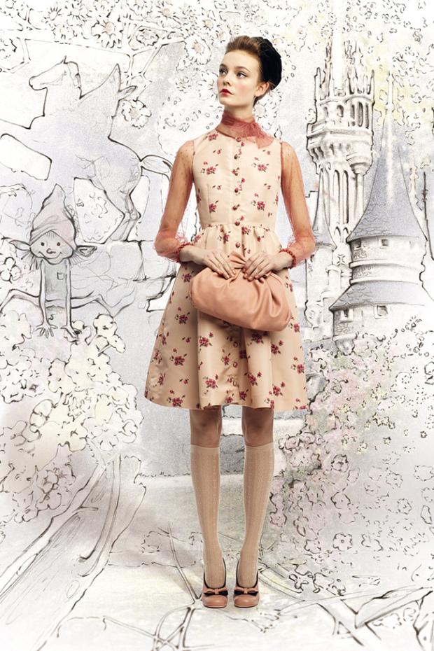 Для образа бэби-долл иногда достаточно одного удачного платья