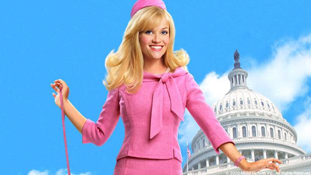 """Уизерспун неплохо справилась с этим образом и на экране. """"Блондинка в законе"""""""