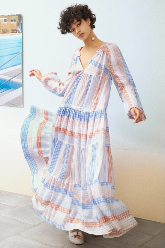 Свободное и легкое платье от Stella McCartney. Прекрасный выбор для пикника
