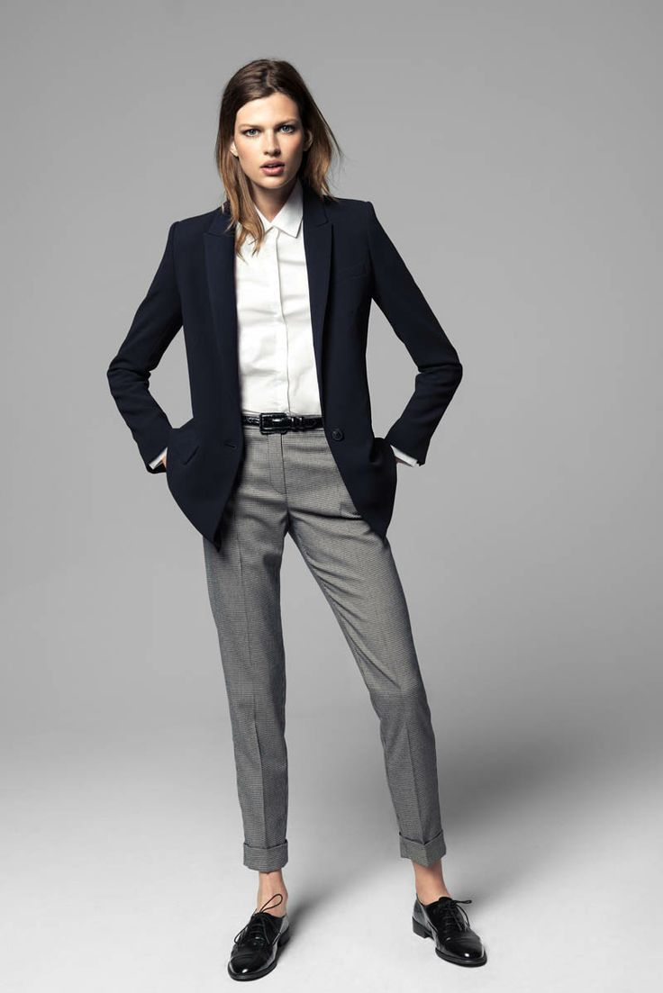 Броги актуальны в деловом стиле не только у мужчин, но и у женщин