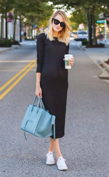 Черное платье: стильно и сдержанно