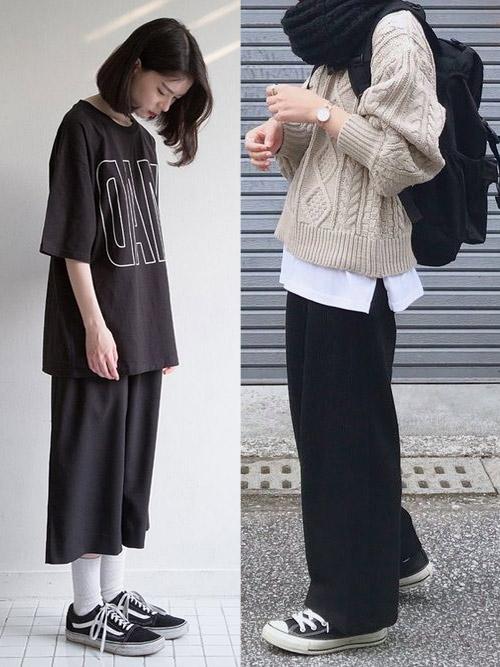Широкие брюки и кюлоты