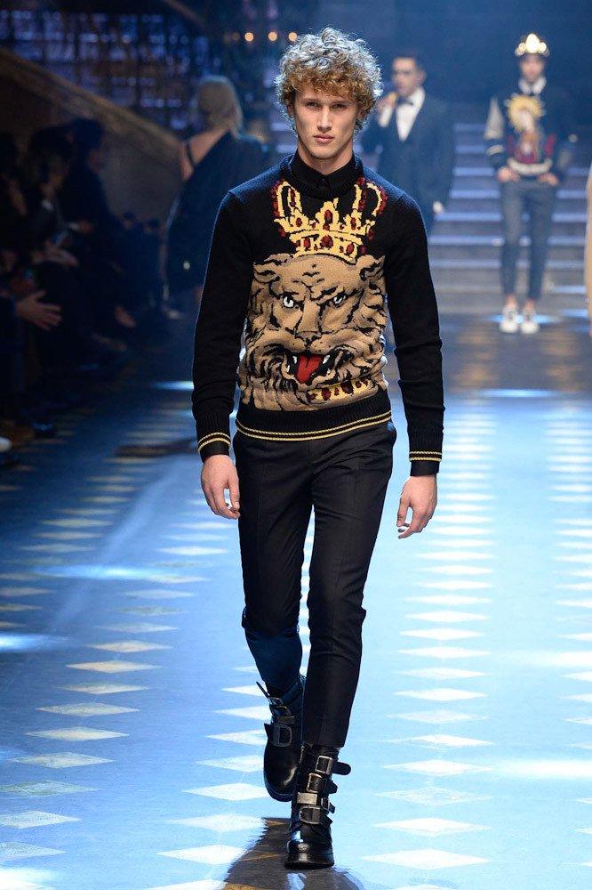 Еще одна модель от Dolce&Gabbana