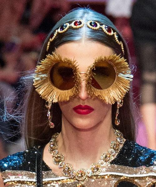 Очки-цветы Dolce & Gabbana 2018