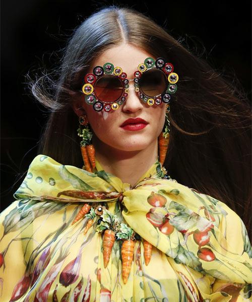 Солнцезащитные очки из коллекции Dolce & Gabbana весна-лето 2018