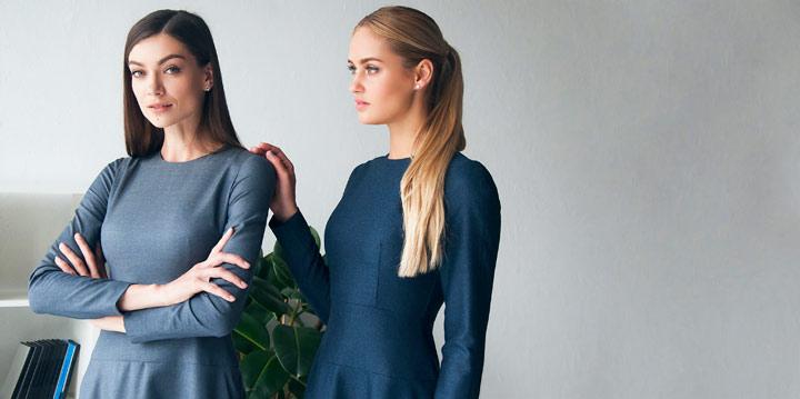 Модные платья для офиса от украинского бренда Letter K
