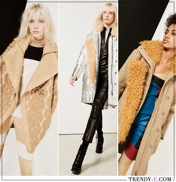 Укороченные пальто Barbara Bui осень-зима 2019-2020
