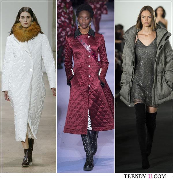 Стеганые пальто от Ellery, Altuzarra, Ralph Lauren сезона осень-зима 2017-2018