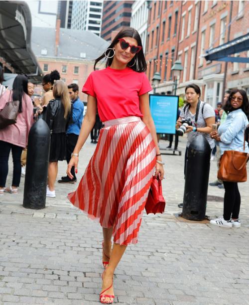 Джованна Батталья демонстрирует образ в стиле smart casual