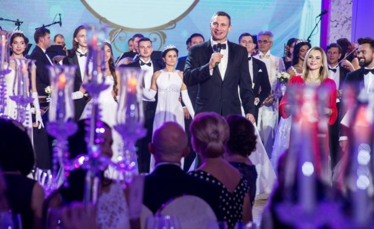Мэр Киева Виталий Кличко на Благотворительном Венском балу