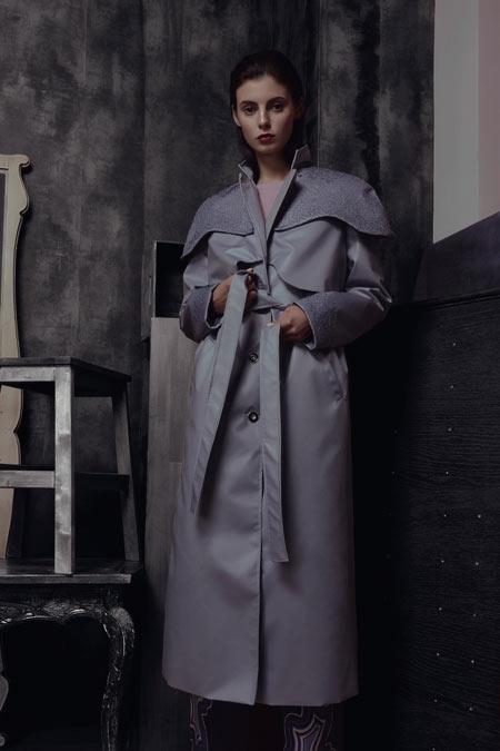 Пальто от LYUMOS коллекция Gemia SS 2018