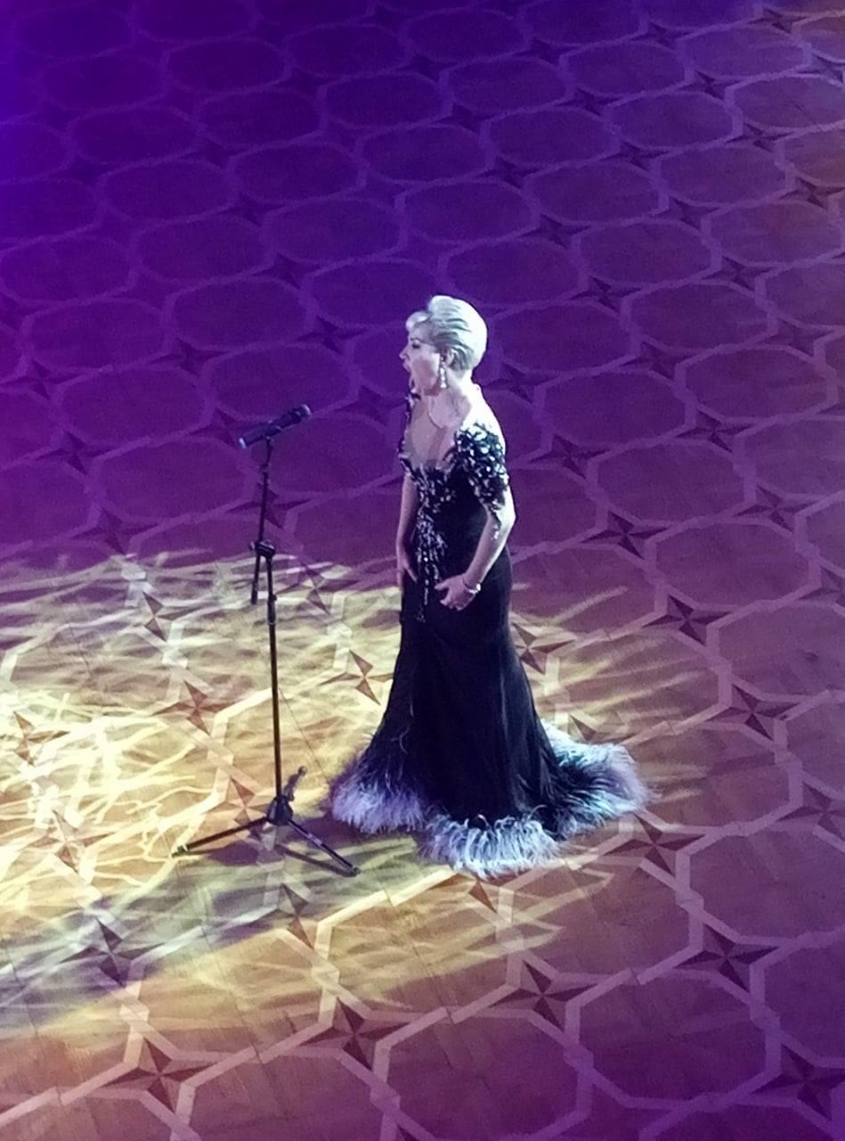 Мария Максакова выступала для гостей Венского бала в КГГА