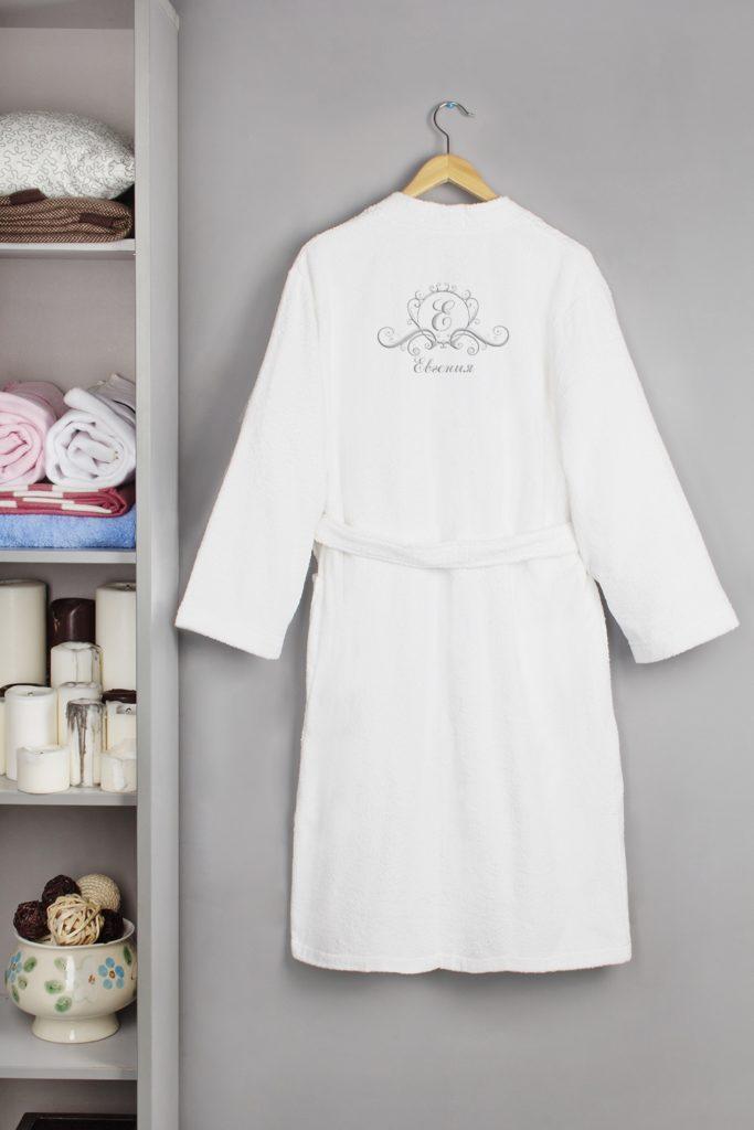 Банный халат как вариант подарка на Новый год