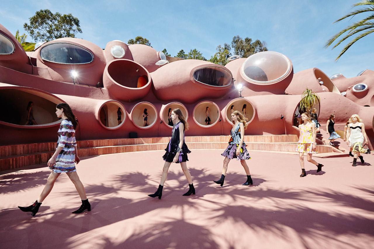 Показ круизной коллекции Christian Dior