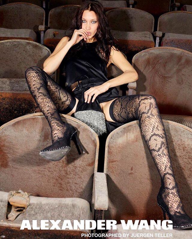 Белла Хадид в рекламной кампании Alexander Wang