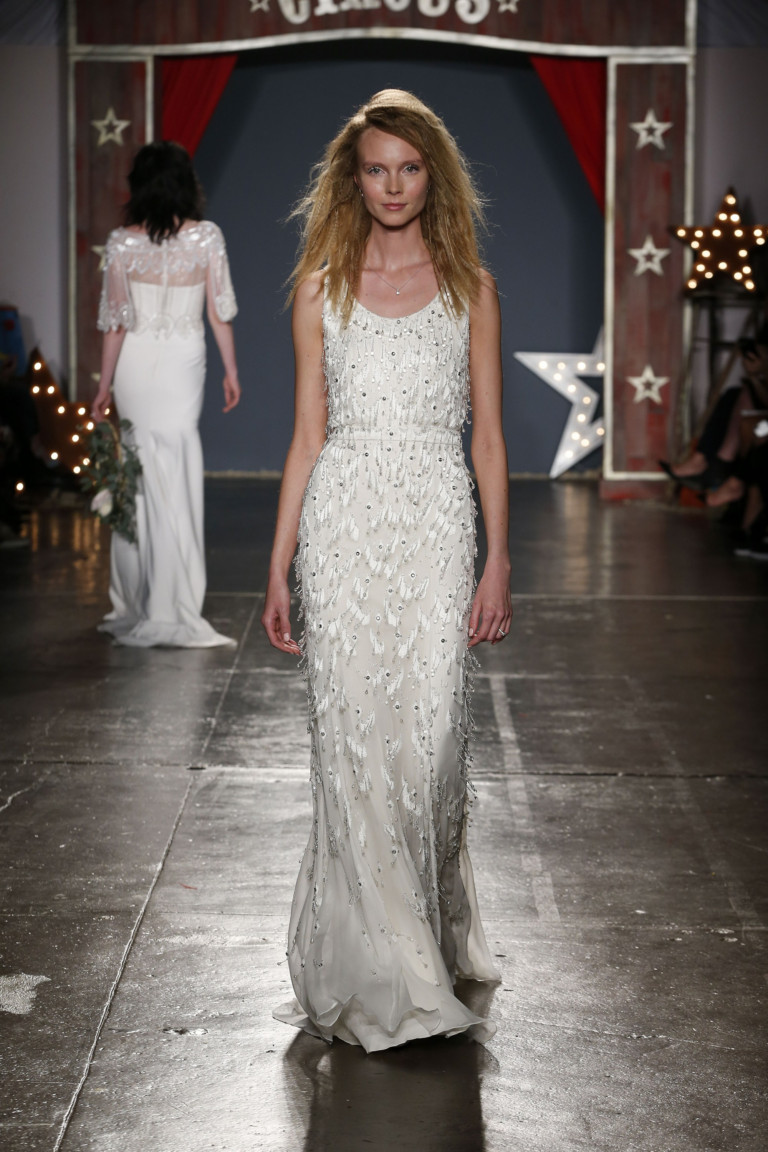 Вариант свадебного платья от Jenny Packham