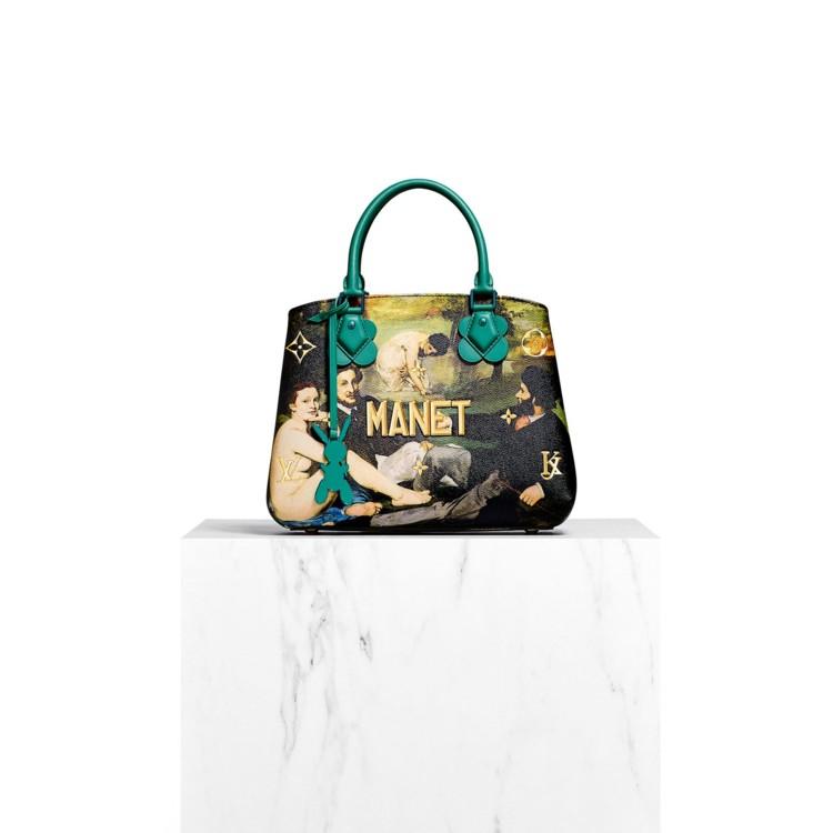 Коллекция Masters - коллаборация Louis Vuitton и Джефф Кунс