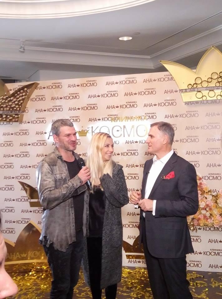 Гостями вечеринки стали Арсен Мирзоян и Антонина Матвиенко