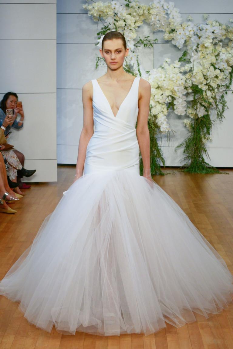 Свадебное платье в коллекции Monique Lhuillier