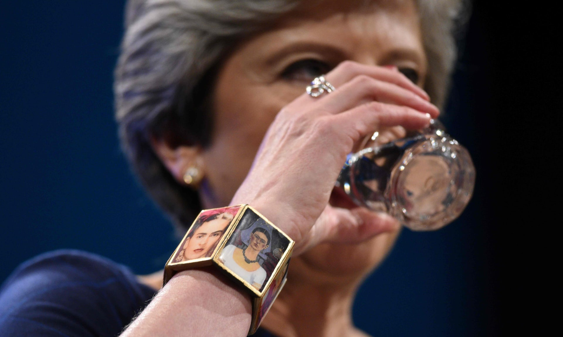 Тереза Мэй на съезде Консервативной партии