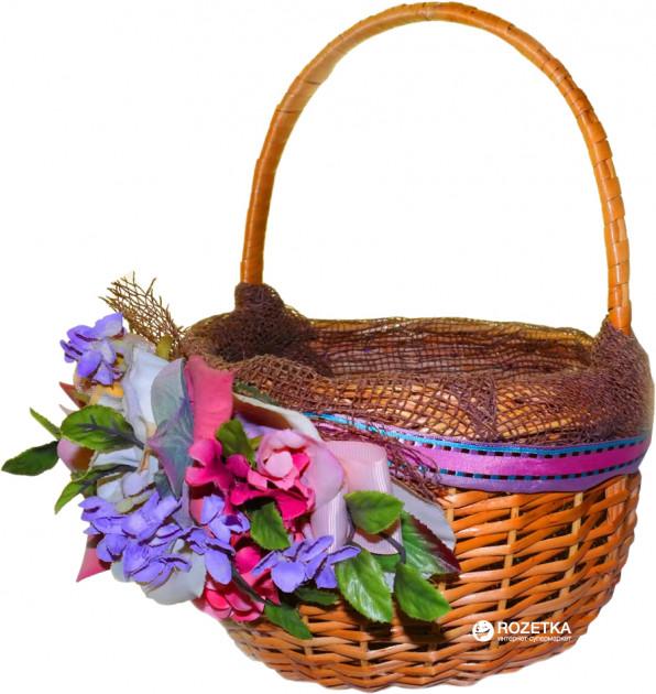 Плетеная корзина с фруктами или сладостями - отличный подарок маме на Новый год