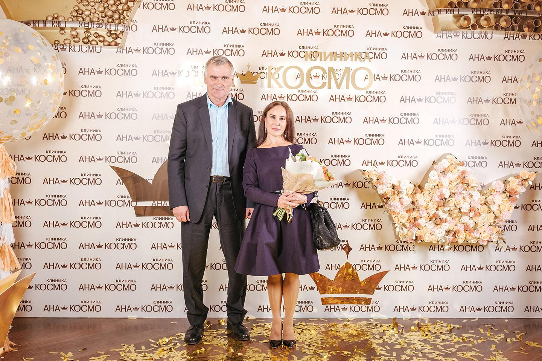 Стелла Захарова посетила вечеринку в честь 20-летия клиники