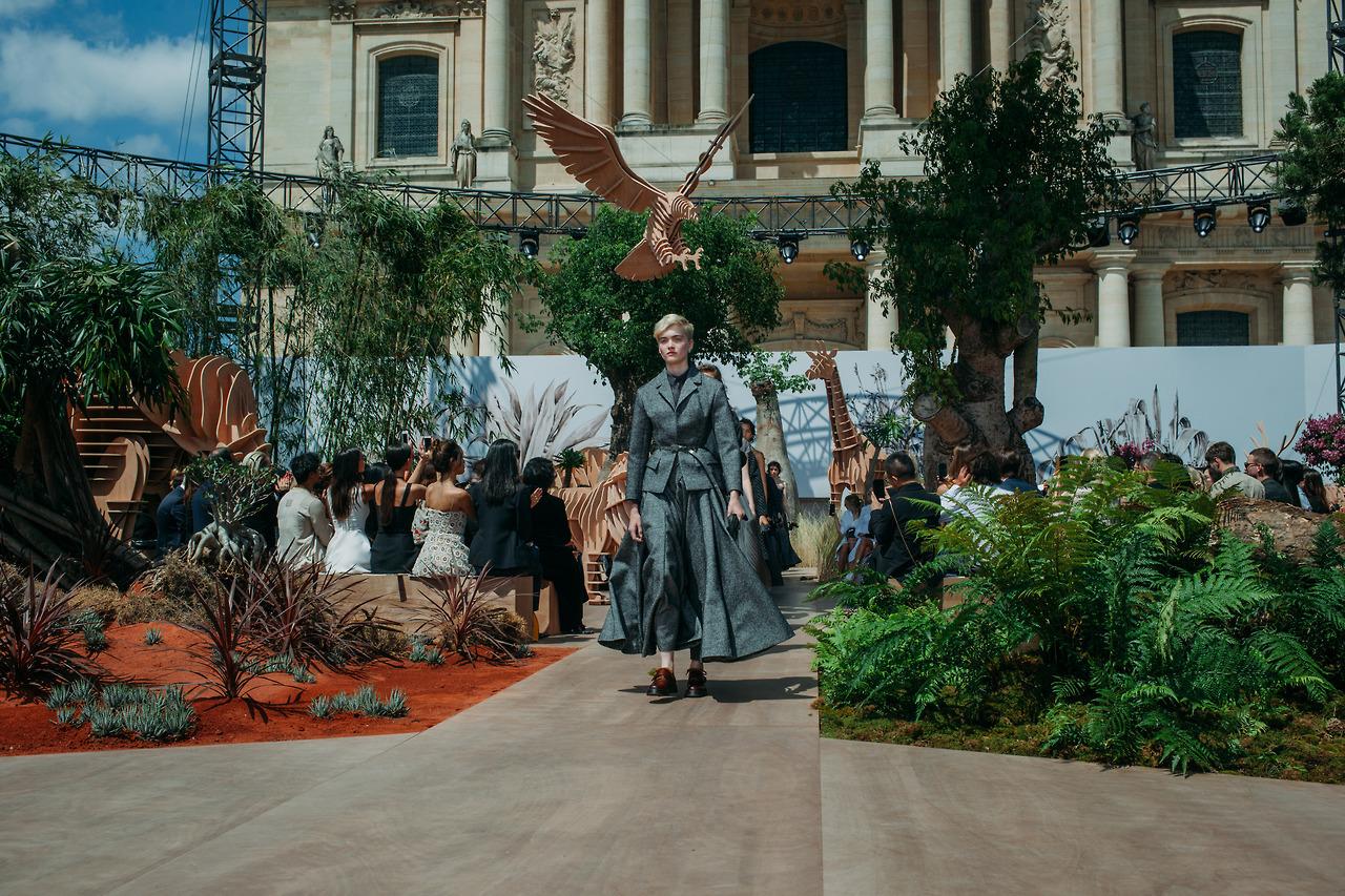Показ коллекции Dior