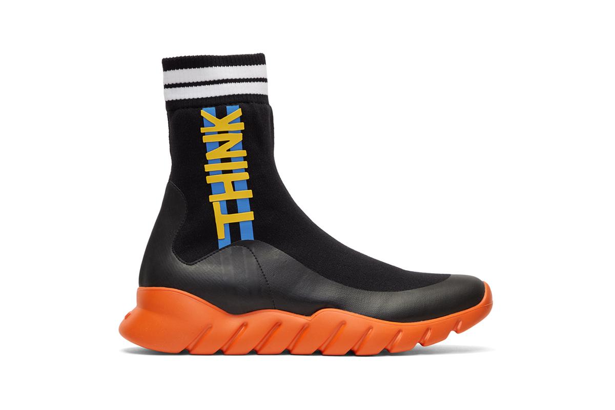 Новые кроссовки от Fendi выпущены в двух расцветках