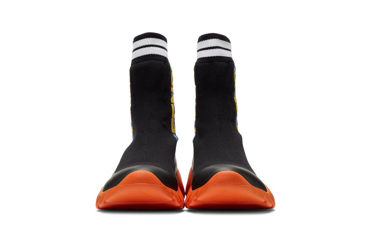 Кроссовки-носки от Fendi