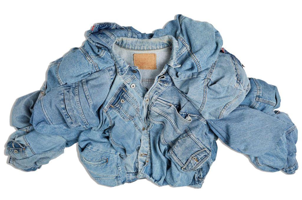 Джинсовая куртка для капсульной коллекции Levi's