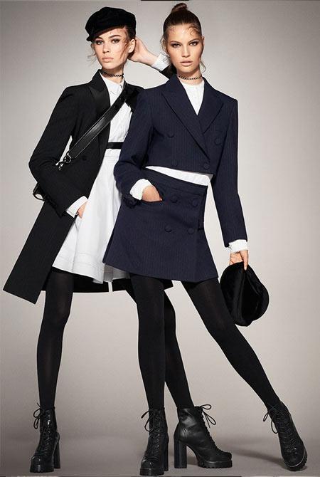 Костюм и платье Zara осень-зима 2017