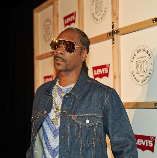 Snoop Dogg на вечеринке джинсового гиганта
