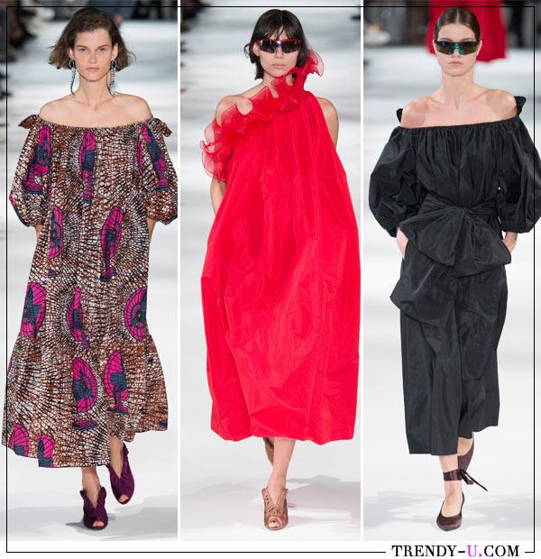 Модные платья для весны и лета Stella McCartney весна-лето 2018