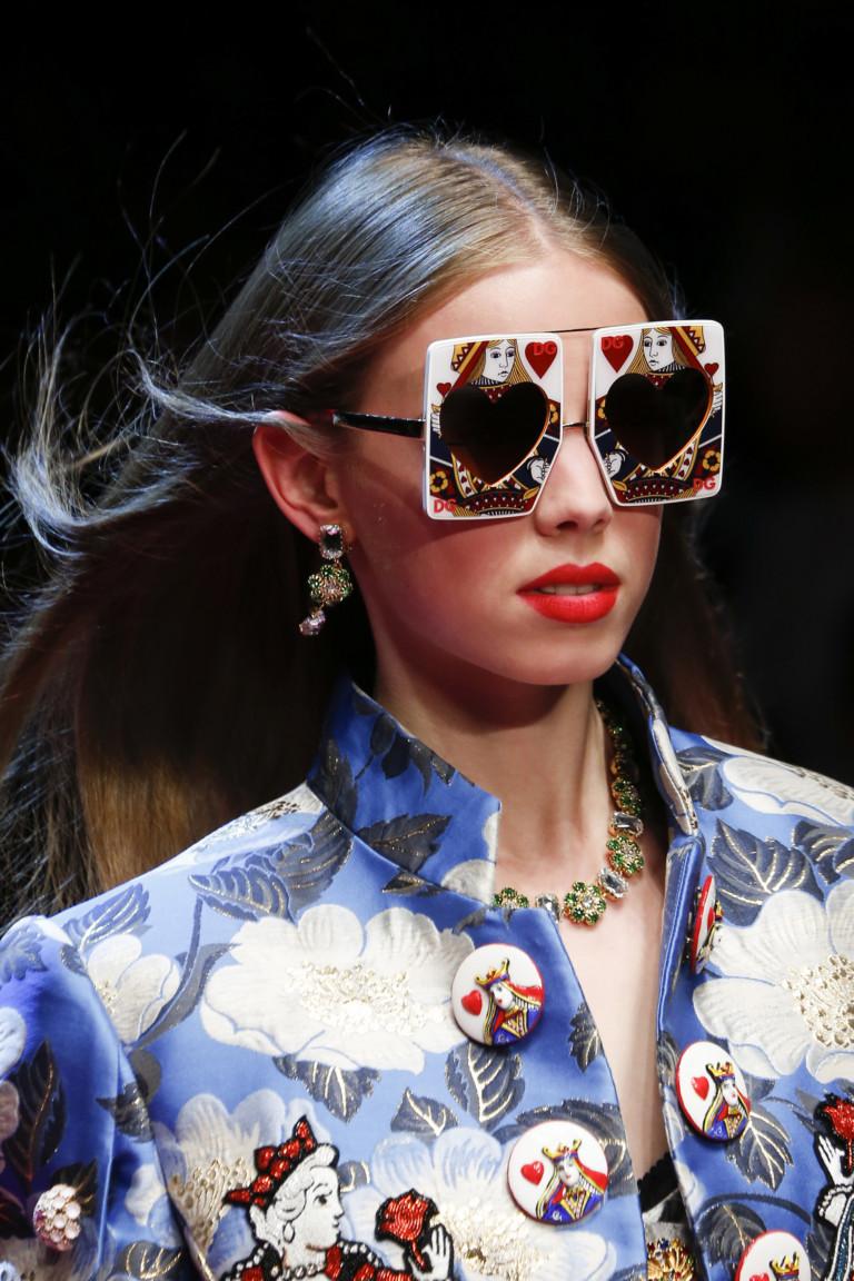 Карточная тема Dolce Gabbana SS 2018: Вся жизнь - игра!