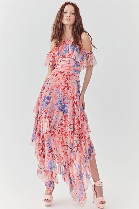 Alice + Olivia платье на весну и лето 2018