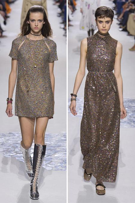 Модные платья из коллекции Christian Dior 2018