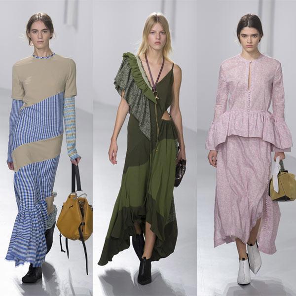 Летние платья от LOEWE осень-зима 2018-2019