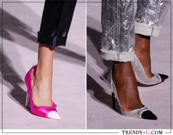 Весной и летом в моде туфли-лодочки на шпильке. Tom Ford SS 2018