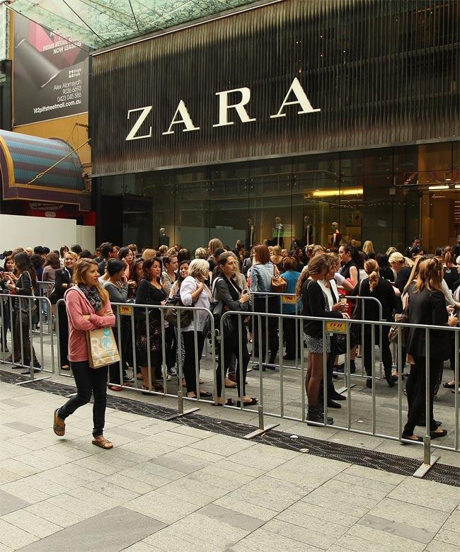 Магазин Zara в Турции
