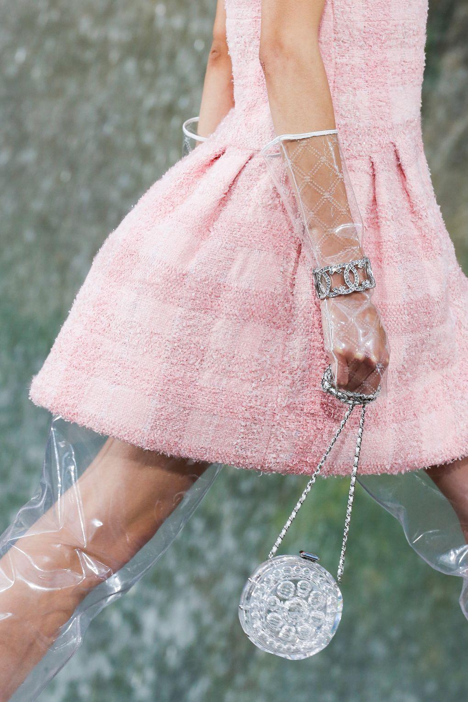 Маленькая круглая сумочка. Коллекция Chanel SS 2018