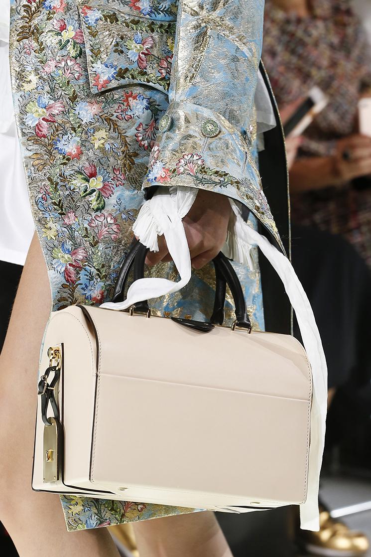 Модные сумки 2018 - в форме сундучка