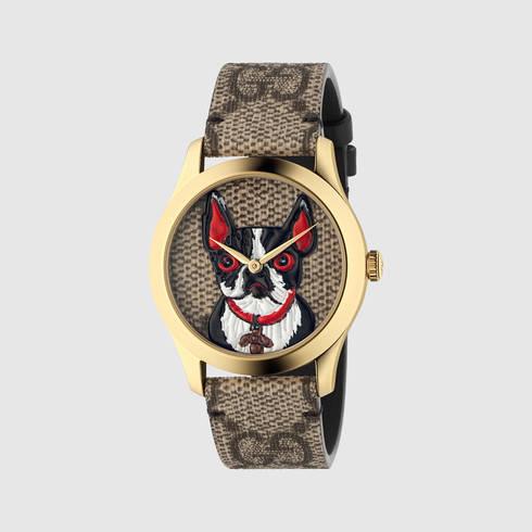 Модель наручных часов Gucci