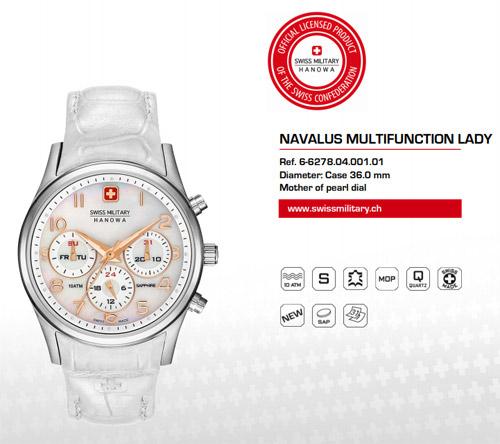 Часы Swiss Military Hanowa женские