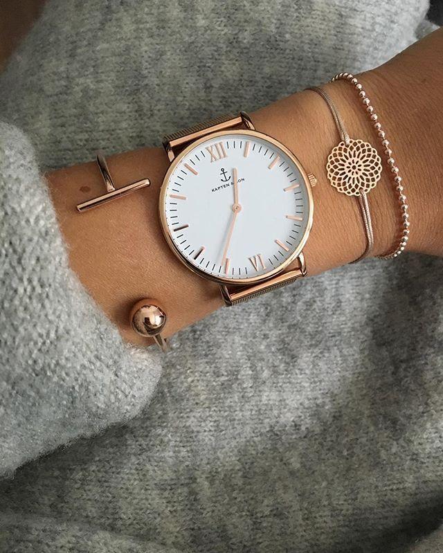 Модные женские часы 2018 - крупный циферблат